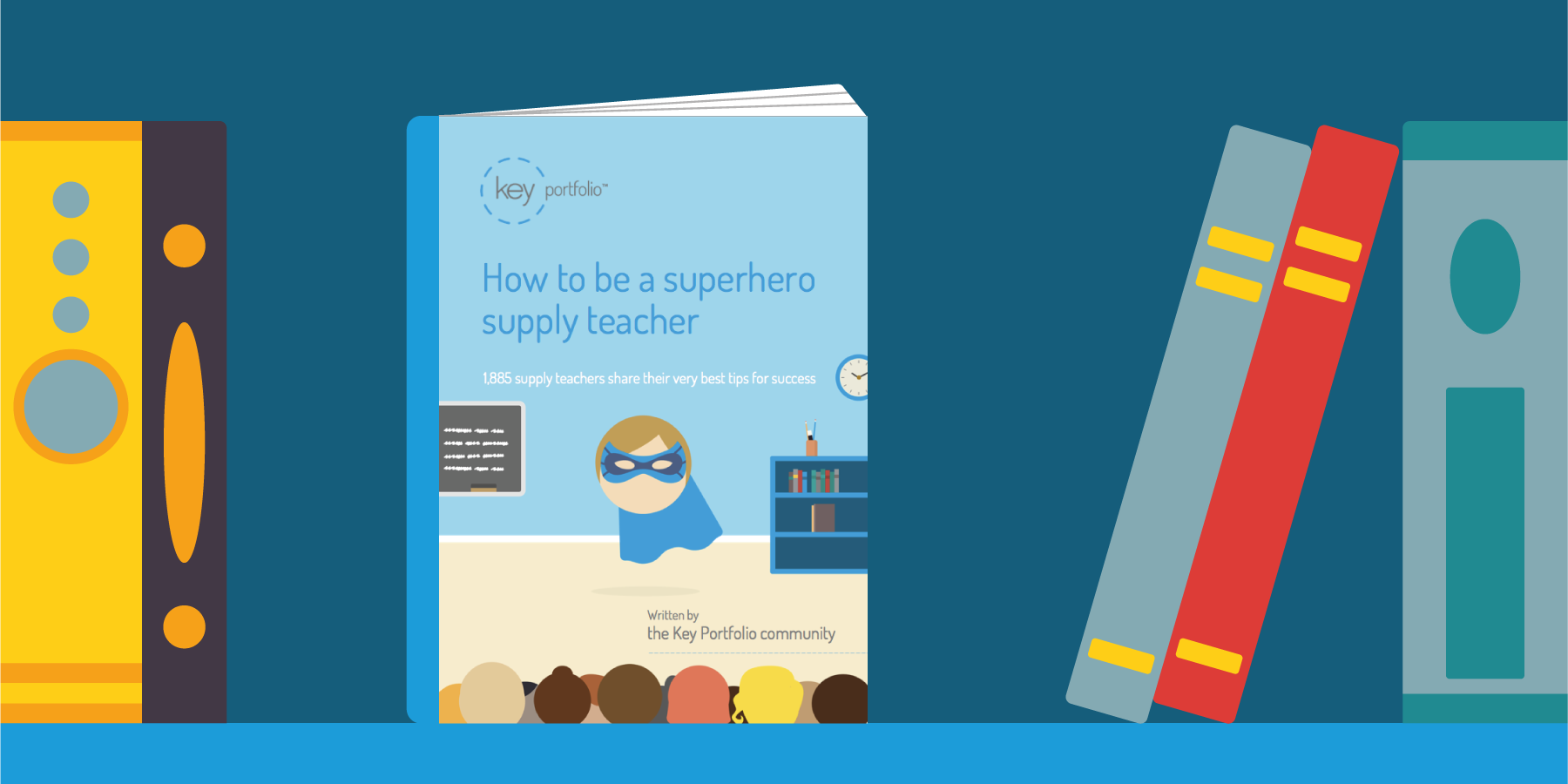 How to be a superhero supply teacher book