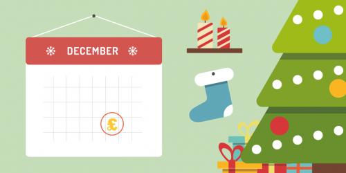 December pay days calendar
