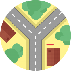Road map image