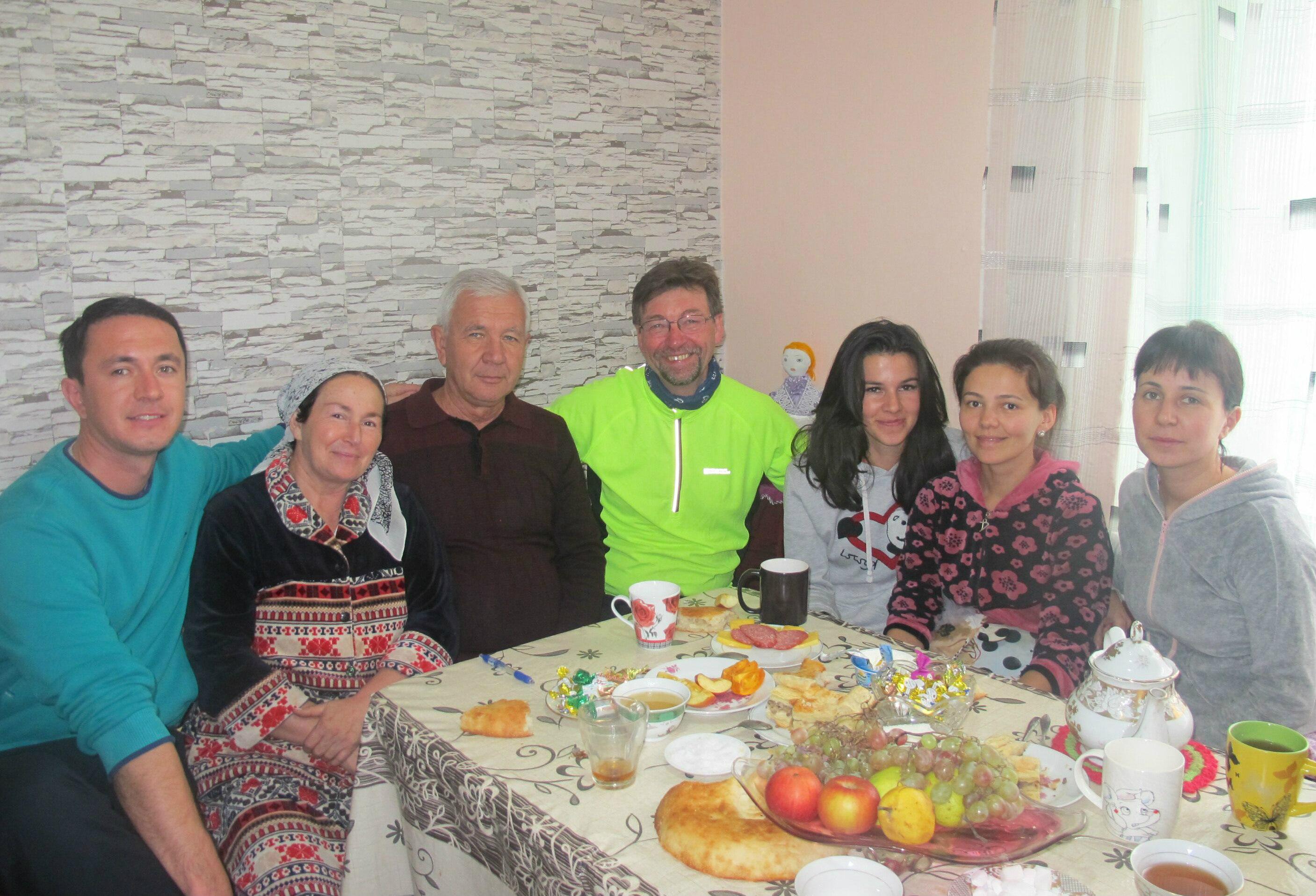 Breakfast in Jizzakh