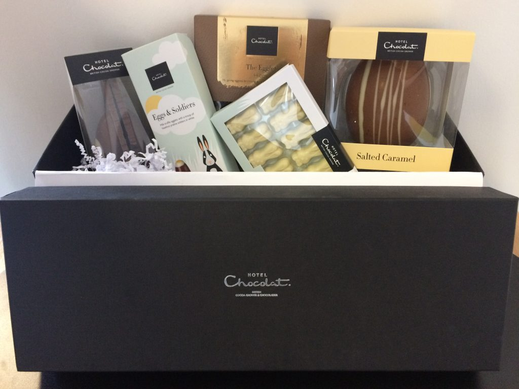 Hotel Chocolat Easter hamper