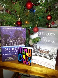 Murder under the Christmas tree and Murder on Christmas Eve books