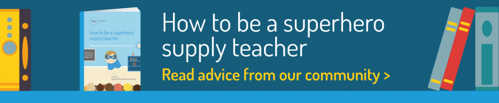 Download our supply teaching ebook